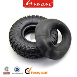 4.10/3.50-4 4.10-4 Tire Tyre And Inner Tube For Lawn Mower Wheel Atv Quad Buggy