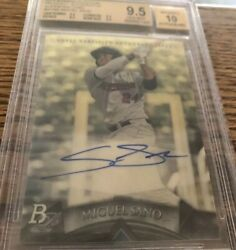 Superfractor Miguel Sano 2014 Bowman Platinum Prospects 1/1 One Of One Pop