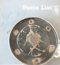 Vw 40hp 1300 1500 1600 Oil Sump Cover Plate Original German Vw Part With Plug