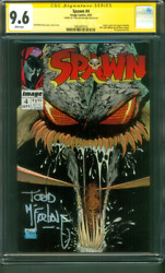Spawn 4 CGC 9.6 SS Todd McFarlane 1992 Image Comics #0 Coupon