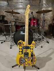 Telecaster Inspired By Terry Kath Of Chicago - New Build
