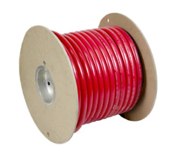 4 Gauge 4ga Battery Cable 100 Ft Spool 49 Strand Red