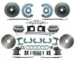64-73 Ford Mustang 63-69 Falcon 64-69 Fairlane Front And Rear Disc Brake Kit 9