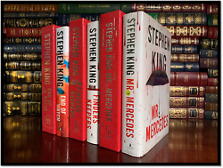 Bill Hodges Trilogy All ✎signed By Stephen King Mint Hardbacks 1st Edition Print