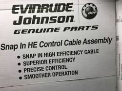0764122 Evinrude 22and039 Control Cable He High Efficiency Snap In 764122