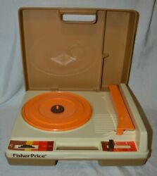 Vintage 1978 Fisher Price Childrens Record Player Phonograph 825