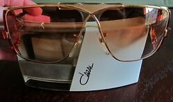 Cazal Vintage Sunglasses  Pristine Model 955 - Col.97- Gold Lens: Gradient Brown