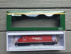 Bowser Ho 1/87 Scale Cp Rail Gmd Sd40-2 Dcc And Sound Road 5723 F/s 24160 New