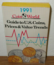 Guide To Us Coins Prices And Value Trends 1991 Book By Coin World William Gibbs