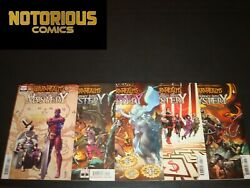 War Of The Realms Journey Into Mystery 1-5 Complete Comic Lot Run Variant Set