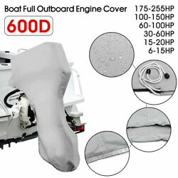 Engine Motor Cover Protector Boat Full Outboard Engine Waterproof Protection New