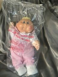 Vintage 1984 Cabbage Patch Kids Doll, Preemie. New In Opened Box.