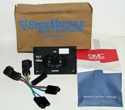 New Omc Outboard Marine Corp Boat Dual Tilt And Trim Switch Kit Part No. 0176538