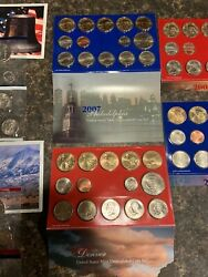 Us Coins Certified Uncirculated Mint Sets 1980-2011 With Storage Locker