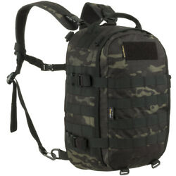 Wisport Sparrow 16l Rucksack Molle Camping Fishing Army Multicam Black Camo
