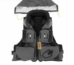 Fly Fishing Vests Outdoor Swimming Life Safety Survival Jacket Drifting Clothing