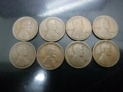 1917-s 1916-s 2-1918 1920-s 1921 1944 1921 Lincoln Wheat Pennies