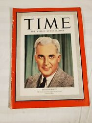 July 10 1939 Time Vintage Magazine Indiana Mcnutt Lucky Strike Ad
