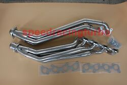 Long Tube Header Exhaust Manifold For 11-16 Ford Mustang Gt 5.0/302 V8 Stainless