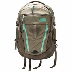 Nwt The Women's Surge 15 Laptop Backpack Brown/mint Anb