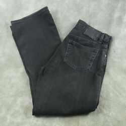 Jeans Kelly Jean Wom Size 6 Med Wash Black Bootcut Jeans Nwot Anb
