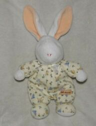 Carters The Beatles John Lennon Real Love Plush Pajama Bunny Baby Rattle Toy