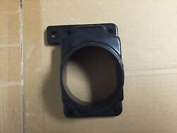 For Mitsubishi V6 L4 Air Intake Filter Maf Mass Air Flow Adapter Plate Black