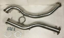 T04b Stainless Steel Turbo Downpipe Midpipe Vband Clamp For 01-05 Is300 Altezza