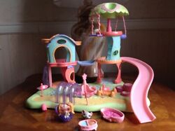 Littlest Pet Shop Whirl Around Playground Retired & Complete with all Pieces