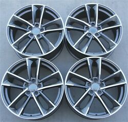 Set Of 4 20x9 5x112 S7 Style Wheels Audi A4 5 A6 A7 A8 S4 S5 S6 S7 Q5 Q3 Rs4