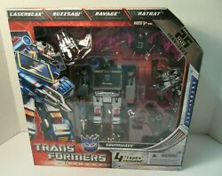 Transformers Universe Sdcc 2009 Reissue Soundwave 25th Anniversary New Sealed