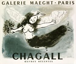 THE LARGEST CHAGALL POSTERS COLLECTION IN THE WORLD - 355 ORIGINAL POSTERS