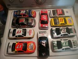 Darrell Waltrip 1/24 Scale Lot Of 10 Diecast Cars