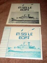 Rand Games - Missile Boat - Tactical Combat On The Sea 1964 - 1984 Unpunched