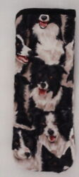BORDER COLLIES All over 2 GLASSES CASE
