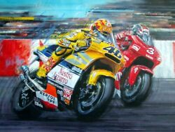 Valentino Rossi The Doctor Has Arrived By Nicholas Watts 40 Off + Freebie
