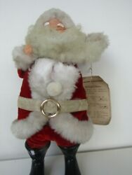 Vintage Berman And Anderson Singing 12 Father Christmas Handcrafted Japan Rare