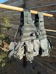 Molle 2 Load Bearing Vest Tactical Flc Rifleman Set With Waist Pouch