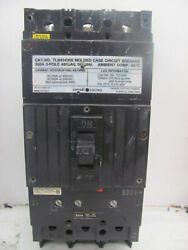 General Electric Ge Tlb434350 Type Tlb Circuit Breaker 3 Pole 350 Amp 480v