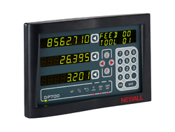 Dp700 Newall 3 Axis Dro Display For Microsyn And Spherosyn Scales Dp7003110s12