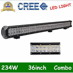 36inch 234w Led Work Light Bar Combo Offroad Ford Car Boat Truck Suv Vs 34/38