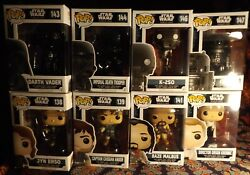 17 Funko Pop Star Wars Rogue One 5 Exclusive 12 Common Comb Sandh More Star Wars