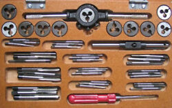 Stuart And Other Model Live Steam Engine Ba 0 - 10 Full Tap And Die Set Boxed