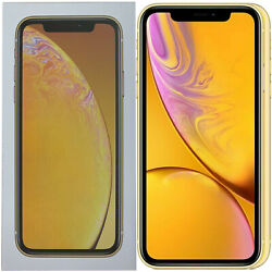 New 6.1 Apple Iphone Xr A2105 128gb Mryf2b/a Yellow Factory Unlocked 4g/lte Gsm