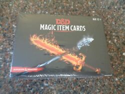 Dungeons And Dragons Magic Item Cards Sealed Gale Force 9 9780786966707