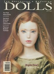 The Collector's Magazine July 1994 Dolls Magazine Antiques, Art