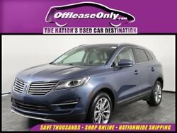 2018 Lincoln MKC Select EcoBoost AWD Off Lease Only 2018 Lincoln MKC Select EcoBoost AWD Intercooled Turbo Premium Un