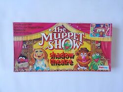 Vintage 1977 Palitoy Uk The Muppet Show Shadow Puppet Theatre Toy Muppets Henson