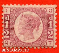 Sg. 48/49. G4. Qt . ½d Rose - Red Plate 9. A Fine Mounted Mint Exampl B46848