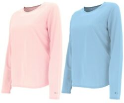 Columbia Cl3317 Womenand039s Bugaboo Mid Weight Omni Dry Ls Crew Thermal Shirt Top M